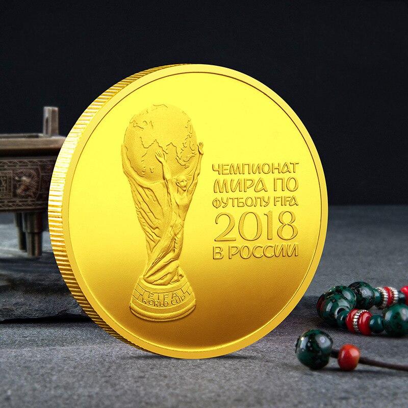 Памятная монета Кубок России 2018, Кубок Геркулес, памятная монета, золотая монета, серебряная монета Безвалютные монеты      АлиЭкспресс