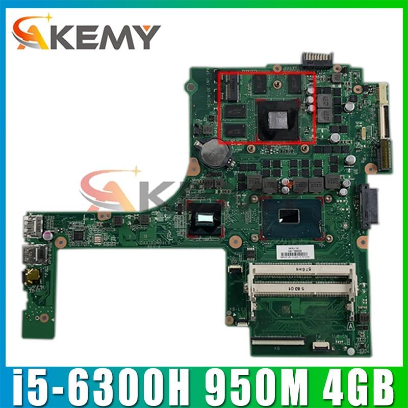 DAX1PDMB8E0 ل كمبيوتر محمول HP اللوحة 15-ak001la 15-AK DAX1PDMB8E0 832847-601 832847-501 950M 4GB i5-6300H 100% العمل