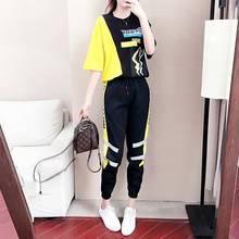 2 pièces ensembles vêtements dété pour femmes survêtement femmes tenues mode Streetwear chemise salon vêtements survêtement