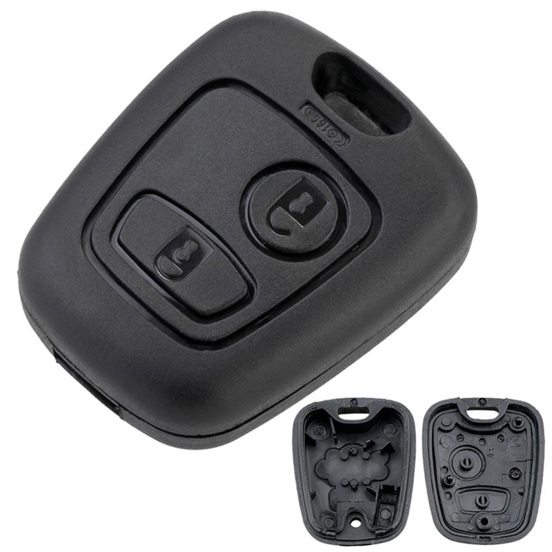 car key cover remote control flip with two buttons key shell fob for peugeot 308 207 307 3008 5008 807 for citroen c2 c3 c4 c5 2 Buttons Remote Car Key Shell Case 307 Blade Fit for Citroen C1 / C2 / C3 / C4 / XSARA Picasso / Peugeot 307 / 107 / 207 / 407