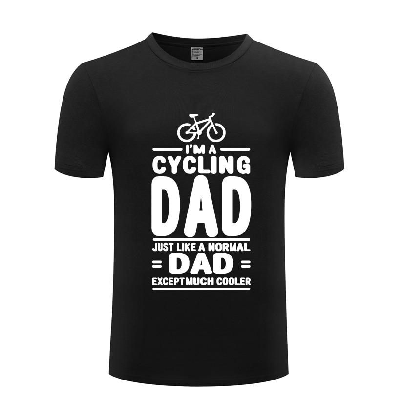 IM A-Camiseta de ciclismo con apariencia de papá Normal, excepto Lot Cooler, novedad en camiseta para hombre, novedad de verano, camiseta Casual de algodón de manga corta