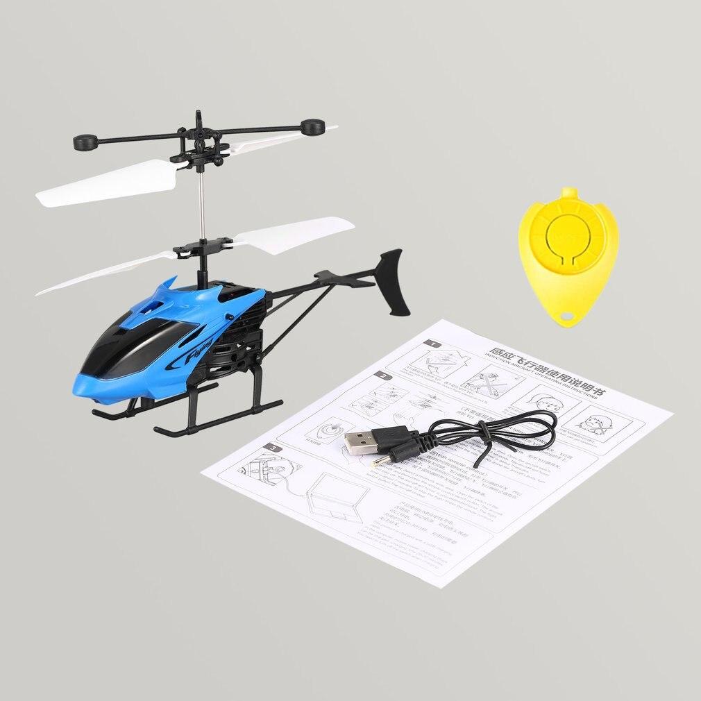 D715 Flug Mini RC Infrarot Induktion Hubschrauber Flugzeuge USB Ladung FÜHRTE Blinkende Licht RC Fernbedienung Helikopter Kinder Spielzeug