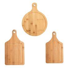 Planche à découper en bois fruits Pizza assiette à pain avec poignée Durable Hangable planche à découper accessoires de cuisine