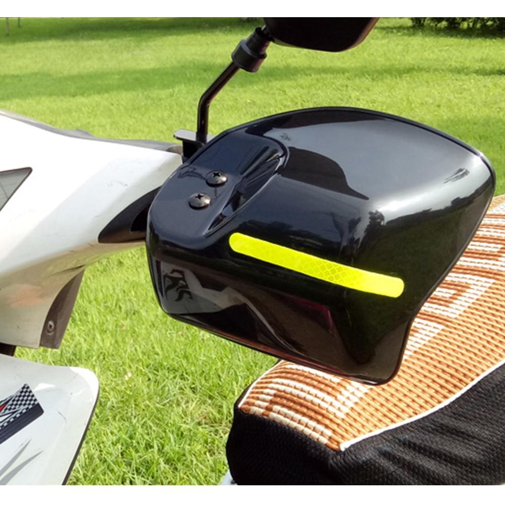 Motocicleta mão guarda handguard escudo à prova de vento para yamaha raptor 350 nmax 155 neos r1 2015 v estrela 1100 wr250f vstar 650 moto
