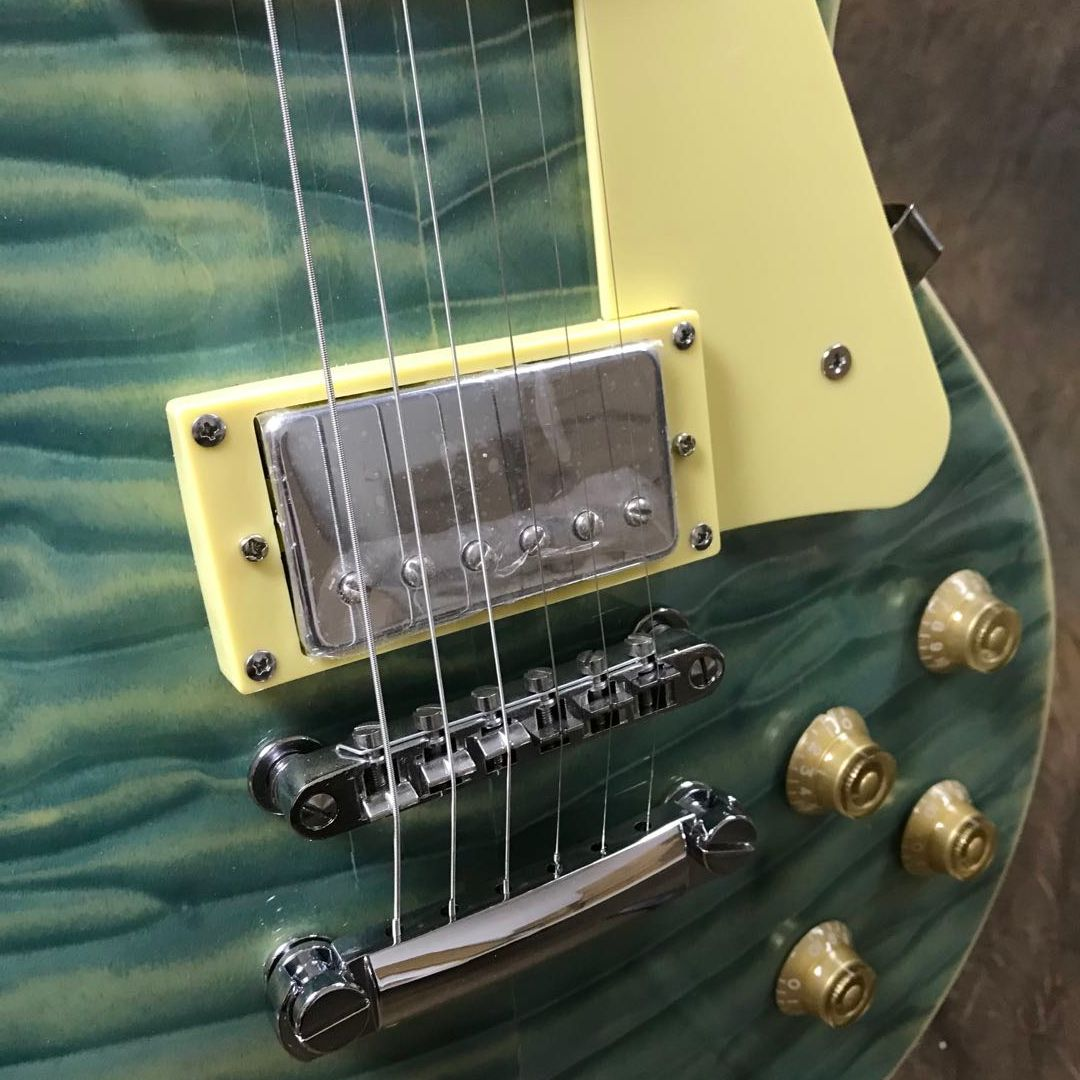 Hot Sale High Quality Quilted MAple Top Guitar Chrome Hardware Free Shipping enlarge