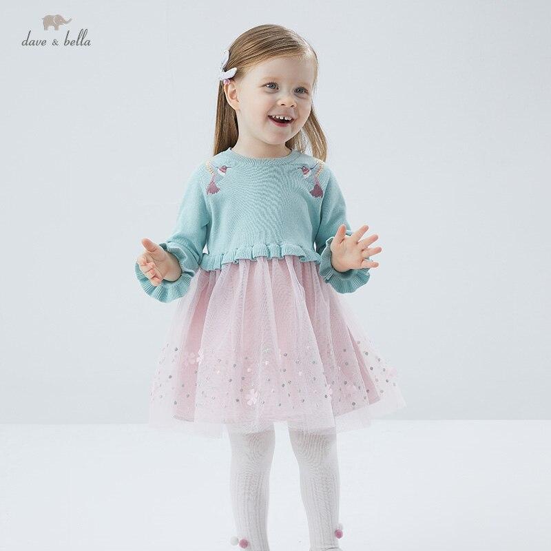"""DBS16608 нижнее белье в стиле бренда dave bella/весна, сказочное детское платье для девочек, с вышивкой и с милыми героями мультфильмов; Модное детское платье; Вечерние платья для маленьких детей в стиле """"Лолита"""", одежда Платья для девочек    АлиЭкспресс"""