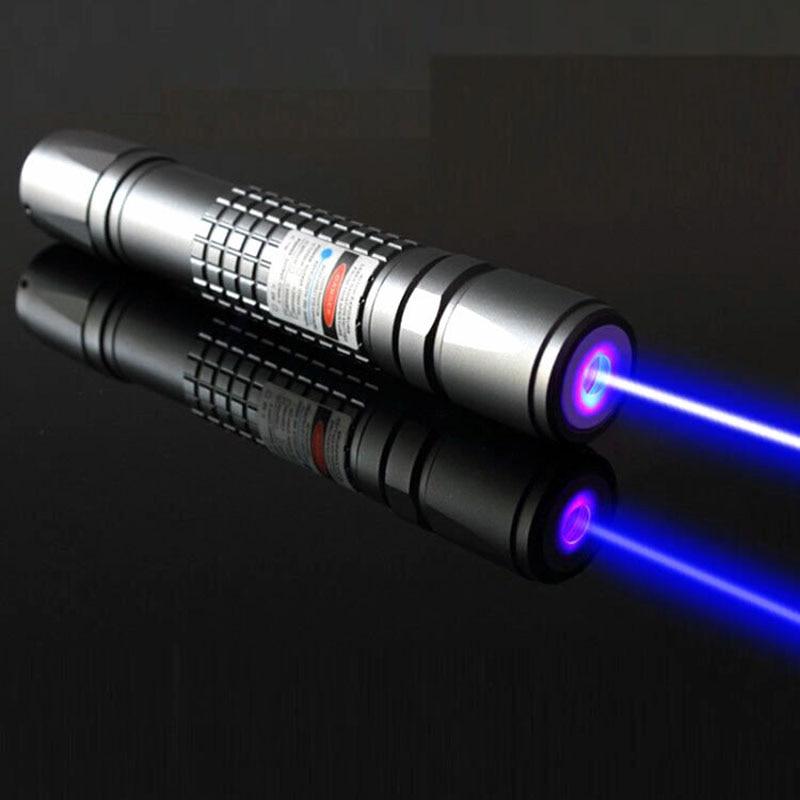 JSHFEI الأزرق ليزر الصيد البصر ليزر إضاءة مصباح يدوي 450nm الهندسة البناء مؤشر الليزر القلم JSHFEI الليزر الأزرق