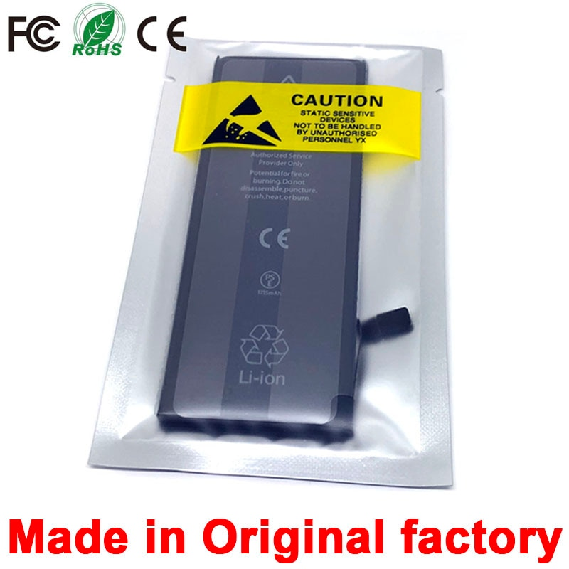 new 0 cycle seal oem high capacity mobile phone battery pack for apple iphone 4 4S 5 5S 5C SE 6 6S 7