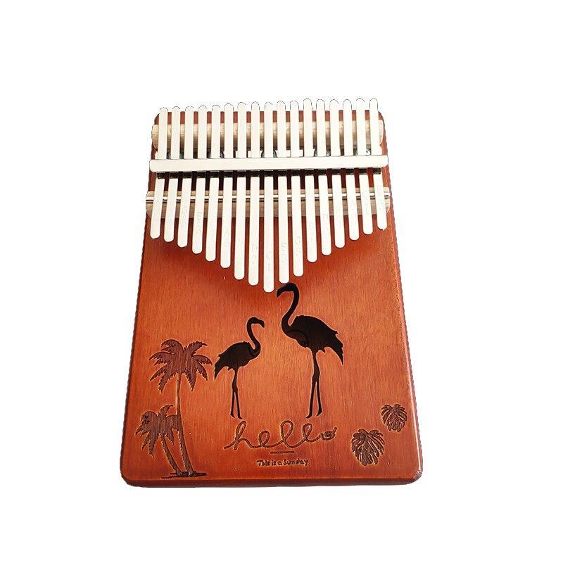 Kalimba 17 Keys Thumb Piano High Quality Wood Mahogany Acacia Wood Body Musical Instruments Kalimba Piano Creative Music Box enlarge