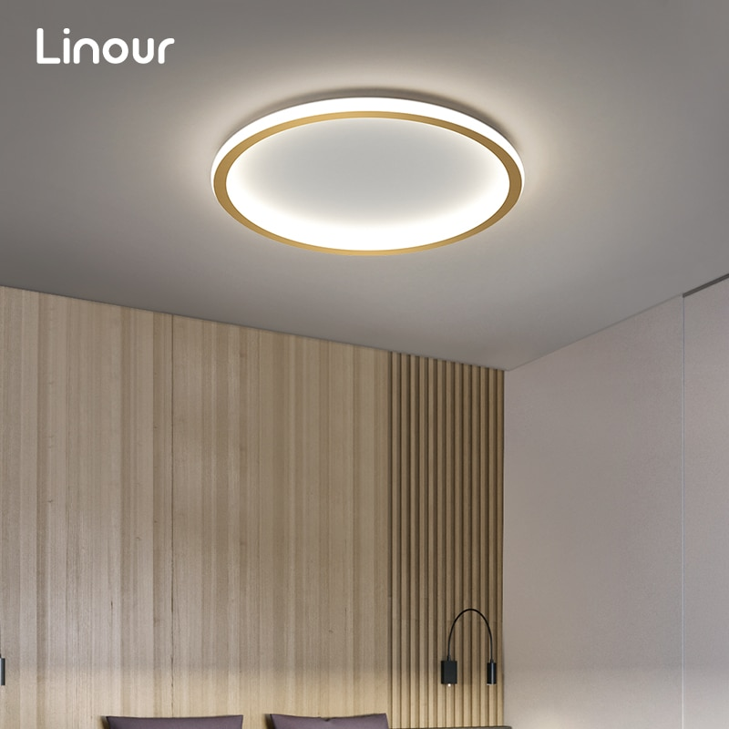 Modern LED Ceiling Chandeliers Nordic Gold Ceiling Lamp for Living Room Bedroom Decor Led Lights Indoor Lighting Ceiling Fixture round square led ceiling lights for living room lights bedroom home white and black iron acrylic modern led ceiling lamp fixture