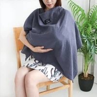 infant baby breast feeding cover breathable feeding nursing cover mosquito net outing breastfeeding towel nursing cloth