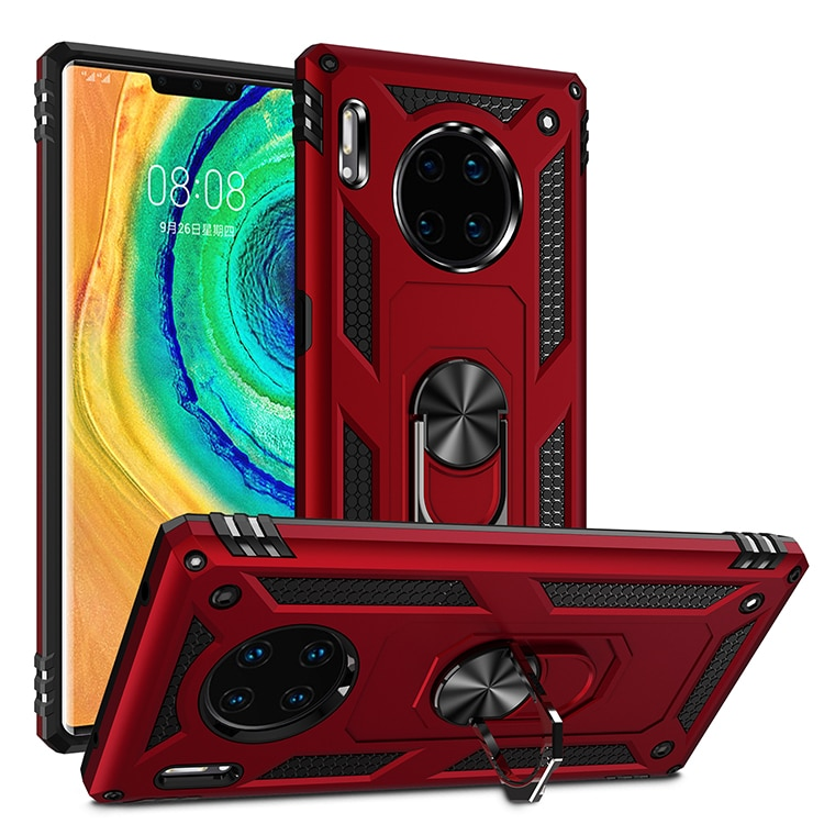 Armadura de parachoques de la caja del teléfono para Huawei Honor 10 Y9 P Smart Z Nova 4 5 5i amigo 20 30 X Pro primer Lite 2019 anillo funda de soporte