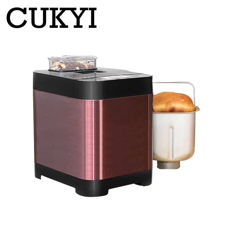 CUKYI automatic Fruit Sprinkled bread maker multifunction bakery machine kitchen household appliance