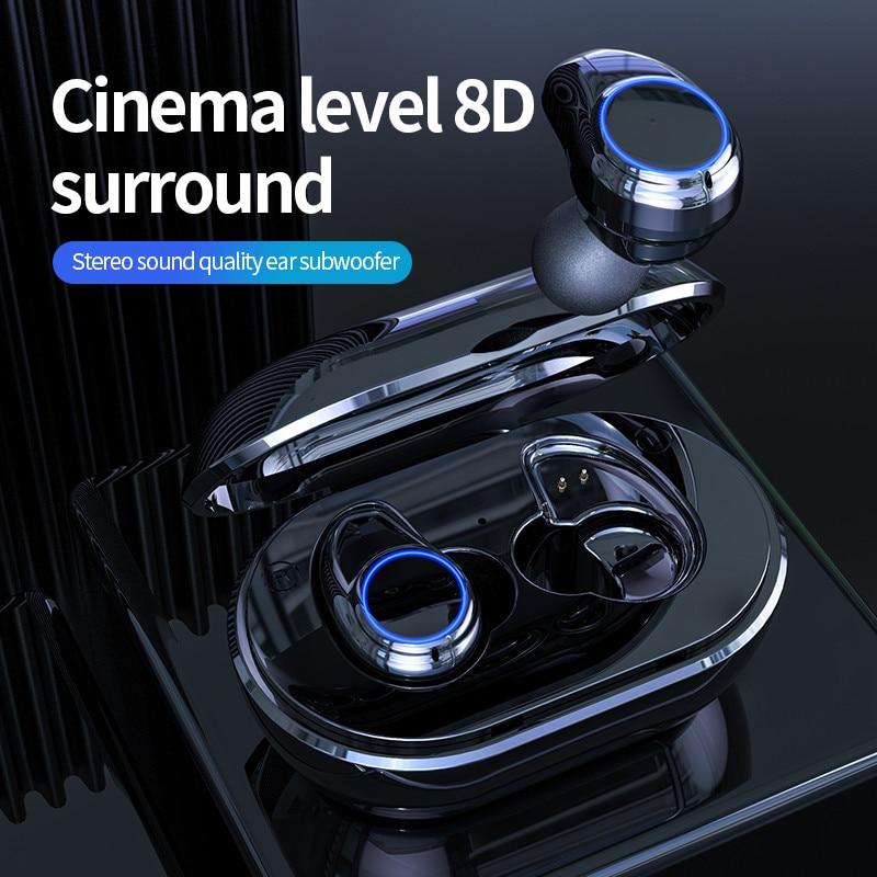 A1 TWS Wireless Bluetooth 5.0 Earphones Binaural Calling Headphone With Charging Box Stereo Headset for HUAWEI iPhone XIAOMI