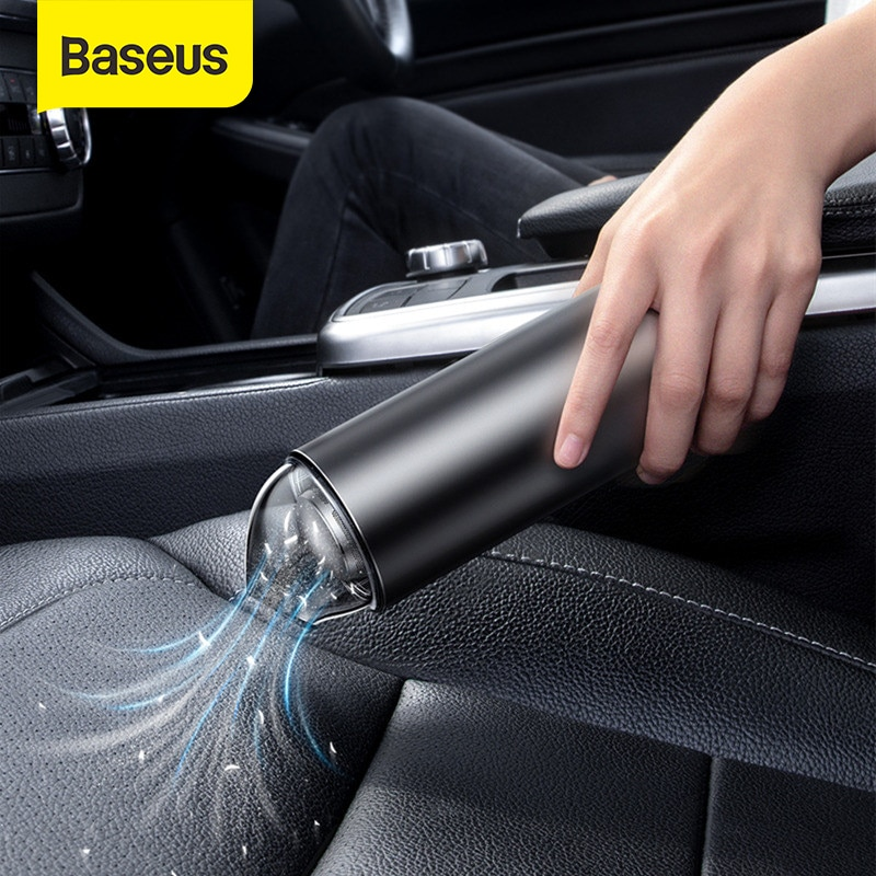 Baseus автомобильный пылесос портативный беспроводной ручной автомобильный пылесос робот для салона автомобиля и дома и очистки компьютера