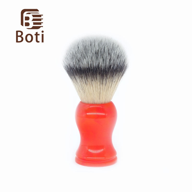 sweet color s305 Boti Brush-Sweet orange color and Boss imitate badger hair 3 color synthetic hair class A  Whole Shaving Brush