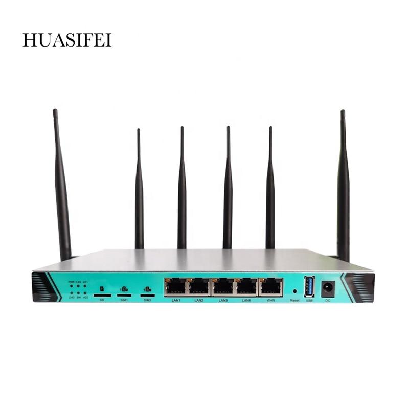 Фото - HUASIFEI Router Wifi Unlock High Global VPN 11AC 1200M 3G4G LTE Dual SIM Card Router Openwrt L2TP Router huasifei 4g dual card multi mode intelligent 1200m 3g4g lte dual sim card router openwrt l2tp router wifi modem router with sim
