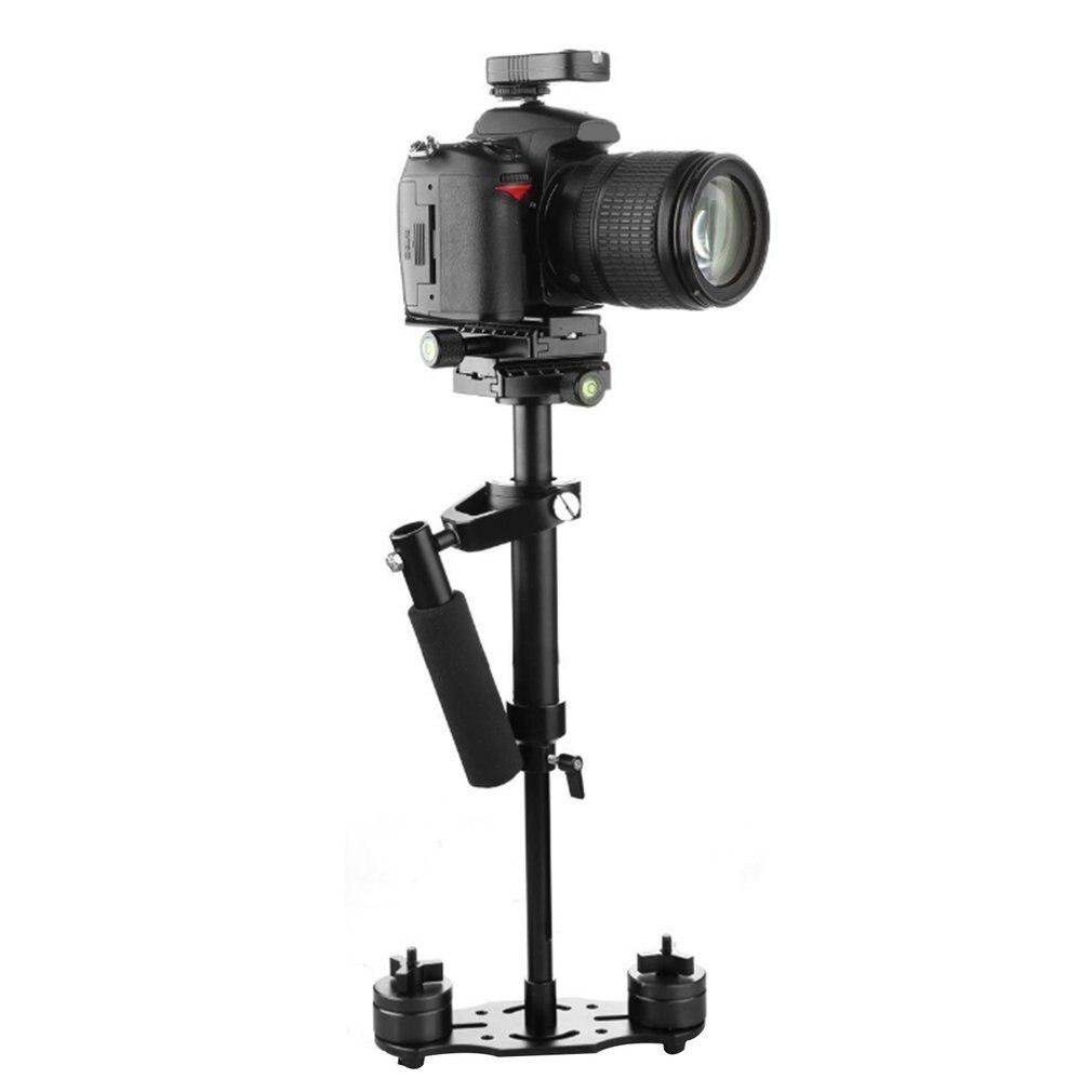 مقبض استقرار التصوير فيديو سبائك الألومنيوم مثبت يدوي اطلاق النار ستيديكام DSLR ستيديكام DSLR كاميرا الفيديو