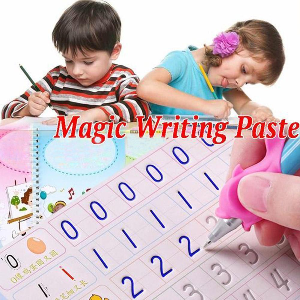 Calligraphy Reusable Handwriting Copybook Letter For Kid Gift Calligraphy Kids V4O1 Writing Dropship