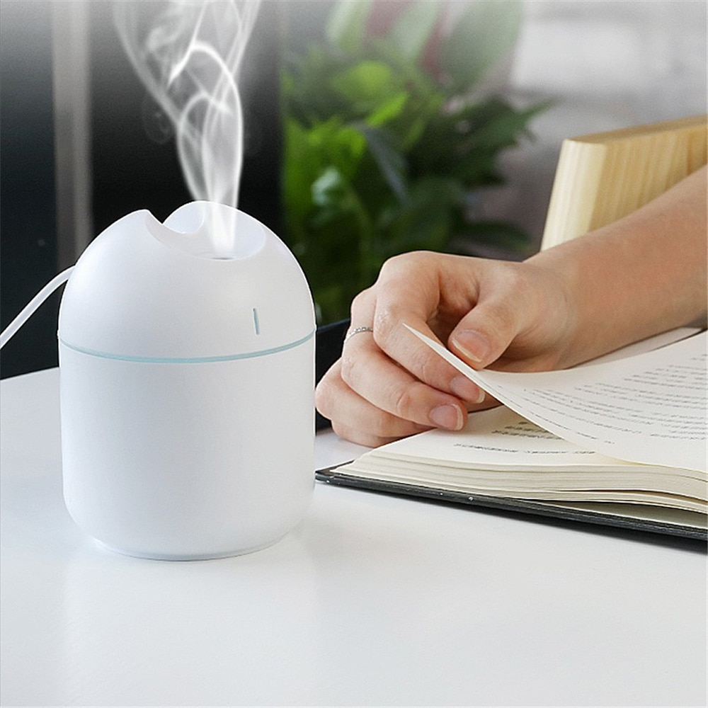 200 мл ультразвуковой мини-увлажнитель воздуха Арома-диффузор для эфирных масел для дома в машину с USB, туманный распылитель, распылитель, рас...
