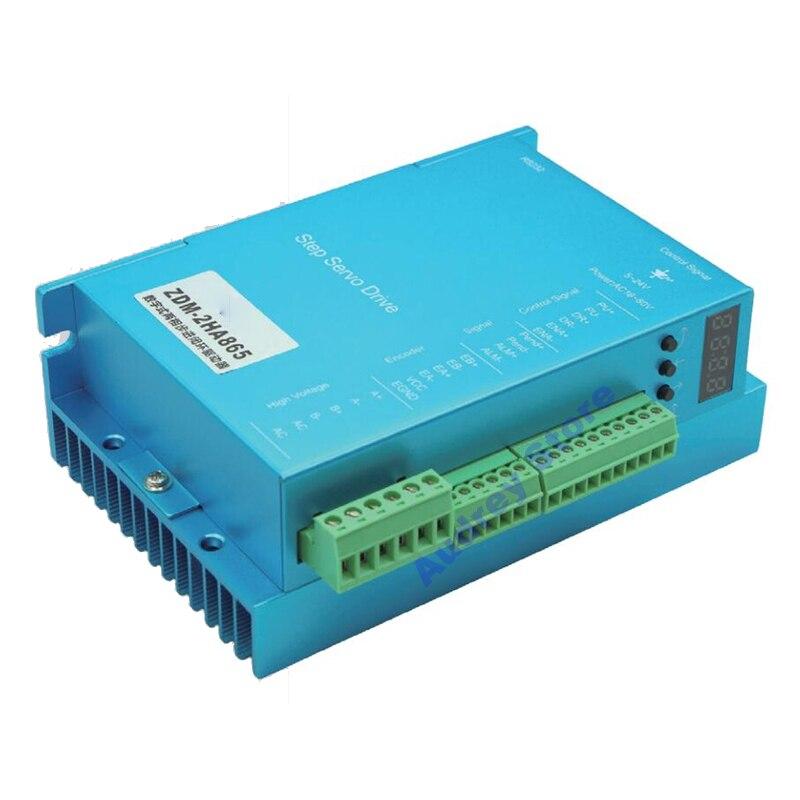 8.2A 110VDC 57/60/86 híbrido de circuito cerrado DSP de alta velocidad servo paso a paso motor driver ZDM-2HA865
