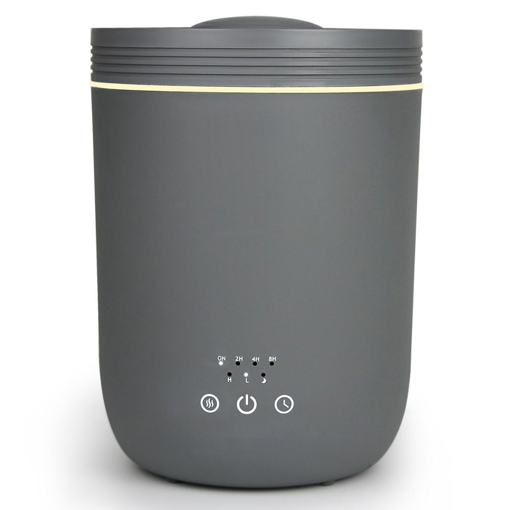 مرطبات هواء فوق صوتي لغرفة النوم المنزلية 2.2L مرطبات مكتب تعبئة علوية كبيرة مع ثلاثة أوضاع ضباب 360 درجة فوهة فائقة الهدوء