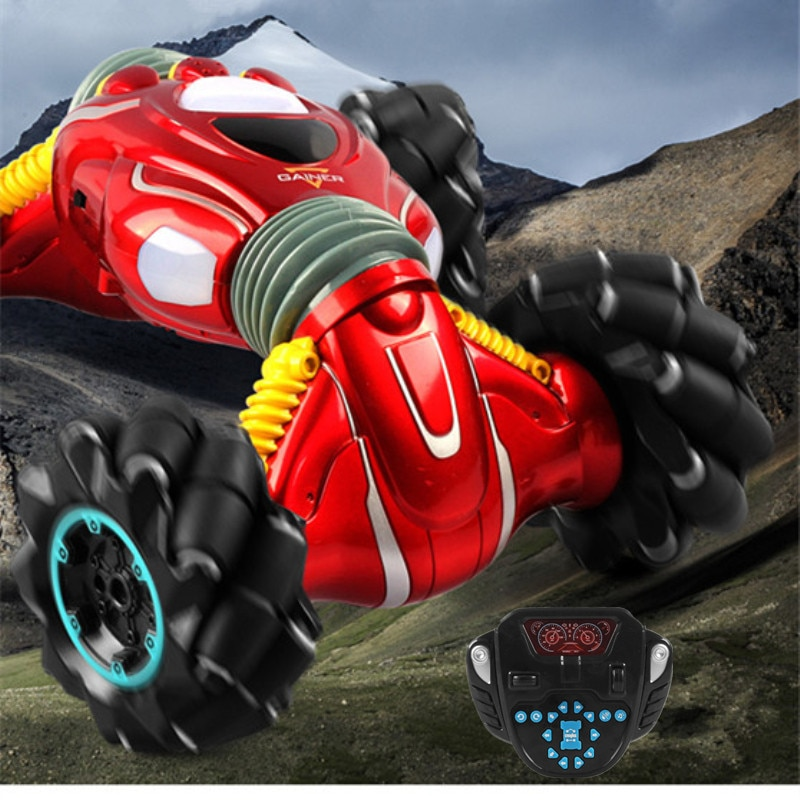 Wireless Electric Remote Control Car Deformed Driving Dynamic Dance  Amazing Music All Terrain Accessible  Multifunctional Toys enlarge