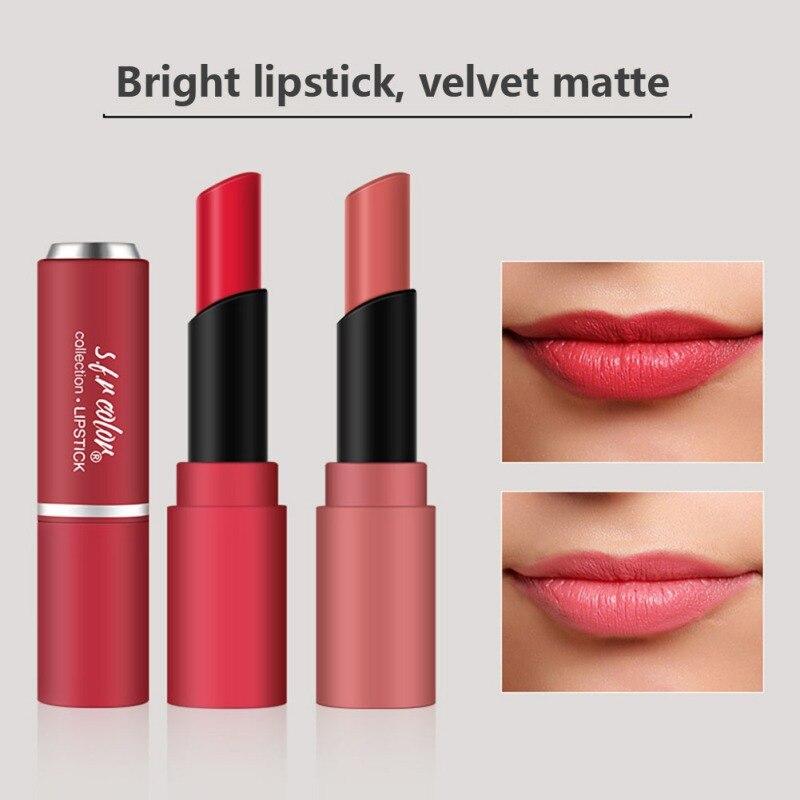 Rubber Paint Tube Lipstick Long-lasting Waterproof Non-stick Cup Long Lasting Matte Lipstick Lip Makeup Good Use