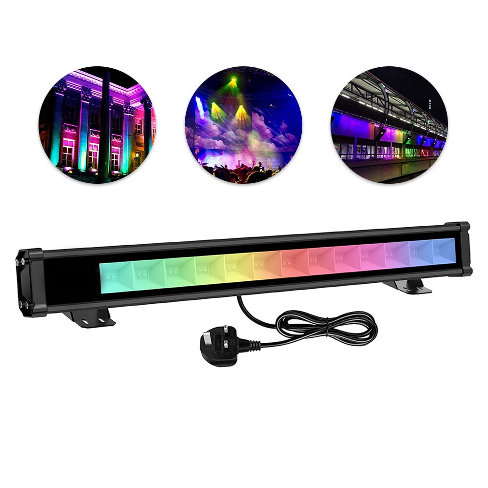 2021 Latest LED 36W RGB Wall Washer Light Outdoor Bluetooth Waterproof Color Changing RGB Light For Party Garden Stage Lighting