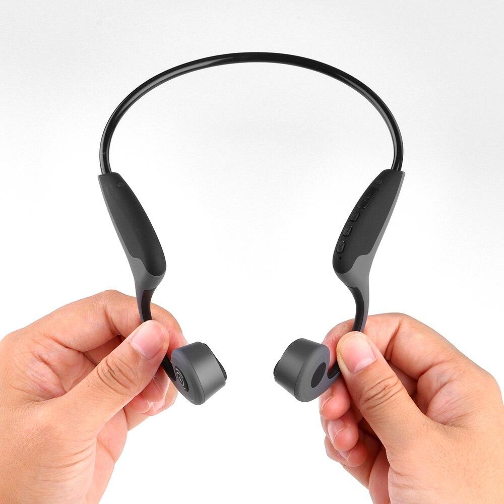 Auriculares bluetooth Z8 5,0 de conducción ósea con micrófono resistente al agua para deportes natación buceo auriculares inalámbricos para huawei iphone