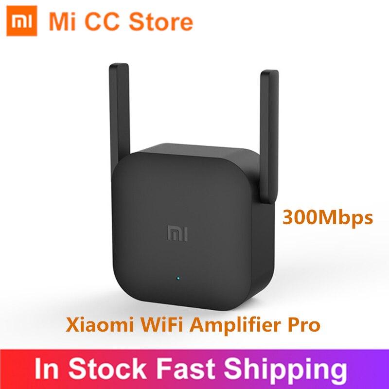 Amplificador WiFi Original Xiaomi Pro 300Mbps Amplificador Wi-Fi repetidor Wifi cobertura de señal extensor repetidor 2,4G Mi inalámbrico