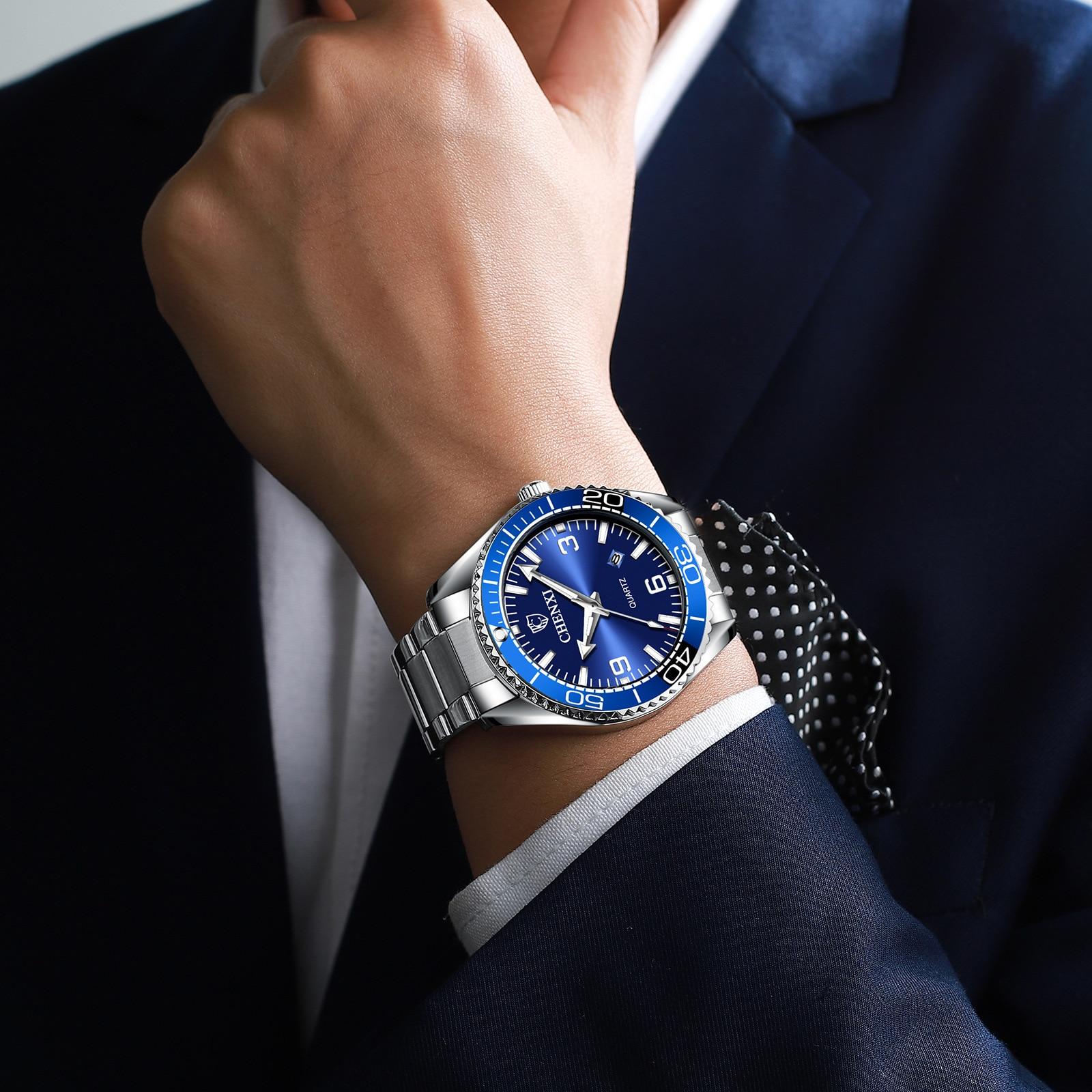 Мужские деловые Часы В креативном стиле, оптовая продажа 8206 мужских часов из стали