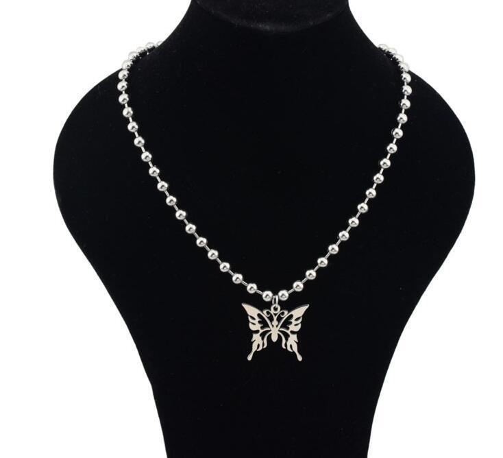 2020 punk chain choker play boy Bunny Pendant Necklaces Charm collier femme e boy egirl igirl  jewelry 90s aesthetic accessories