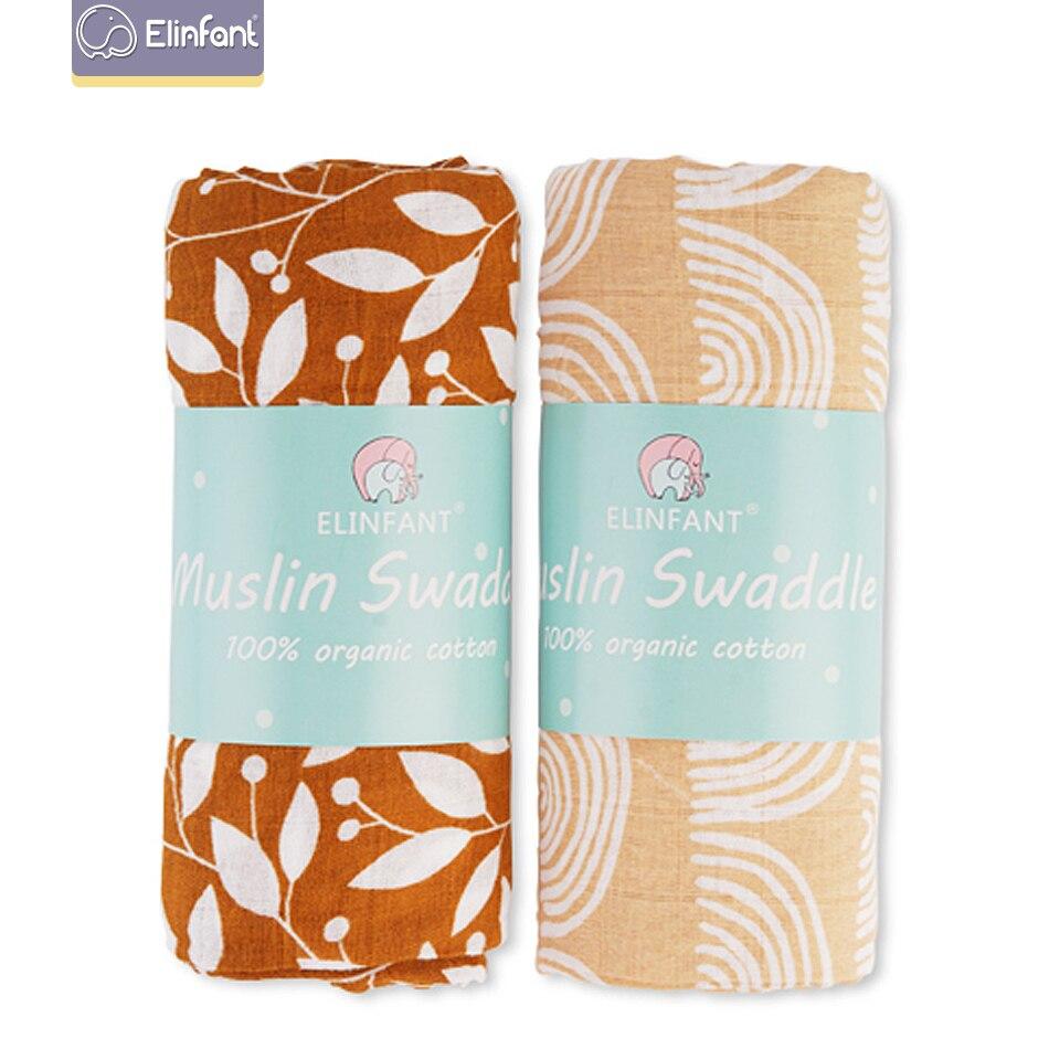 2 uds. Mantas de muselina de algodón lavables para bebé recién nacido mantas negro y blanco gasa Toalla de baño el Nueva inclusión
