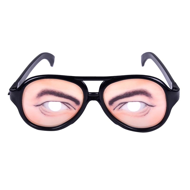 1 шт. Новинка очки Хэллоуин Игрушка фото стенд реквизит Вечеринка смешные очки