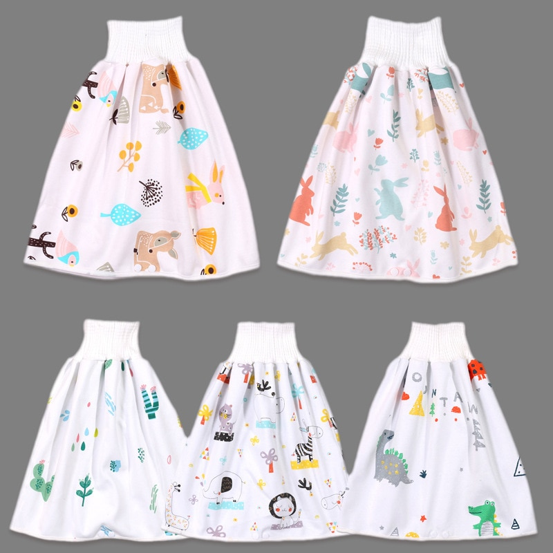 Imebaby, детская юбка для подгузников, водонепроницаемая, многоразовая, для подгузников, для детей, юбка для подгузников, для детей, для замены, ...