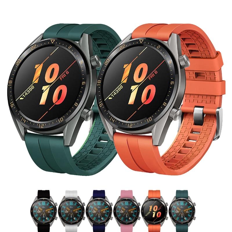 Correa de 22mm para Huawei watch GT 2, correa de 42mm y 46mm para samsung galaxy Watch de 46mm gear S3 Frontier, pulsera amazfit gts