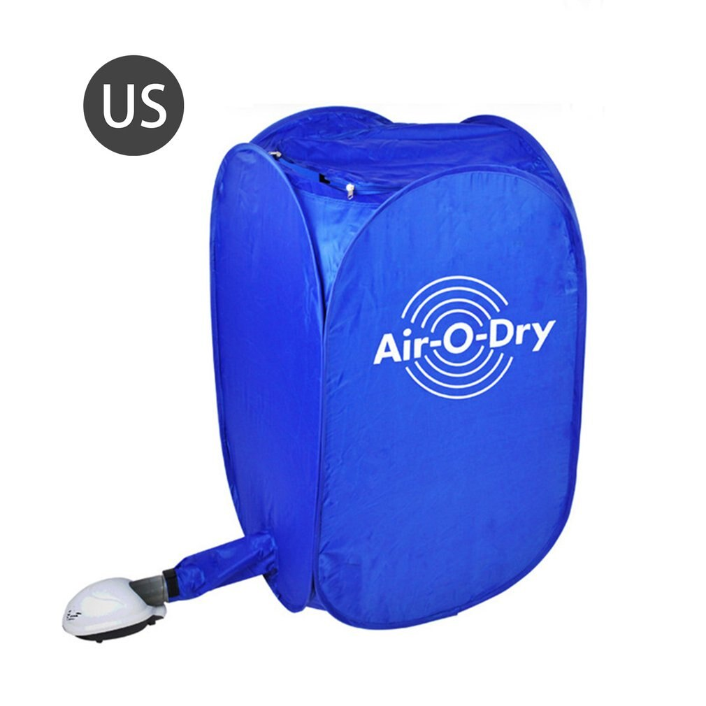 1 Set Foldable Electric Air Clothes Dryer Folding Fast Drying Machine 800W Multipurpose Cloth Dryer Portable Machine Accessories недорого