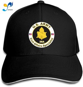 U.S. Army MOS 38A Civil Affairs Specialist Men Cotton Classic Baseball Cap Adjustable Size