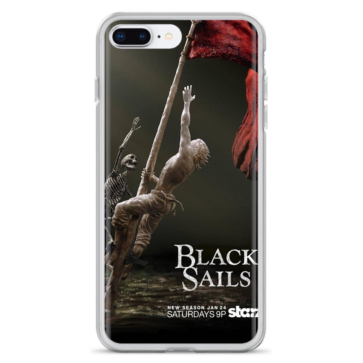 Black Sails For Samsung Galaxy A3 A5 A7 A9 A8 Star Lite A6 Plus 2018 2015 2016 2017 Poster Silicone Phone Case