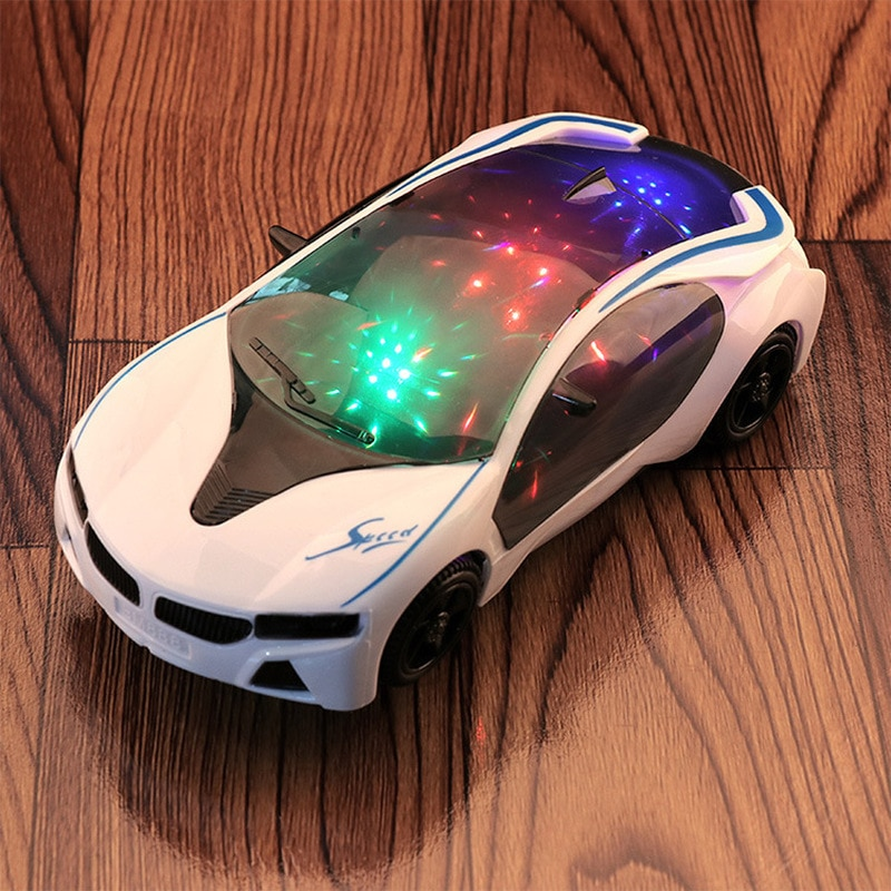 3D Light Music Electric Universal Electric Toy Car Concept Model Children's Toy Rc Cars enlarge