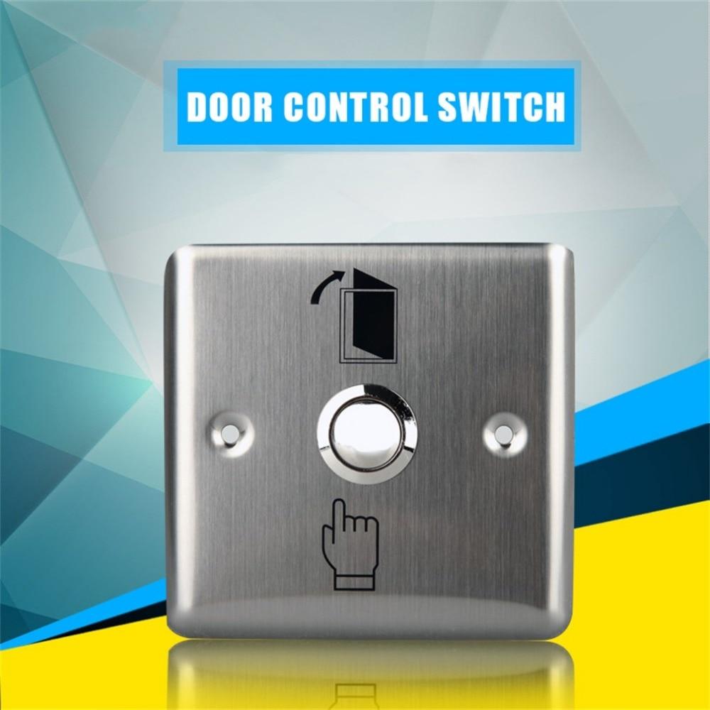 Panneau de commande en acier inoxydable   Offre spéciale pratique, bouton de sortie de porte, bouton de sortie de la maison, contrôle daccès K14 ouvre-porte