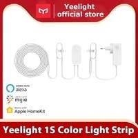 Yeelight     bande lumineuse RGB LED 1S 2 metres  110V 220V Wifi  controle intelligent  fonctionne avec Google assistant homekit
