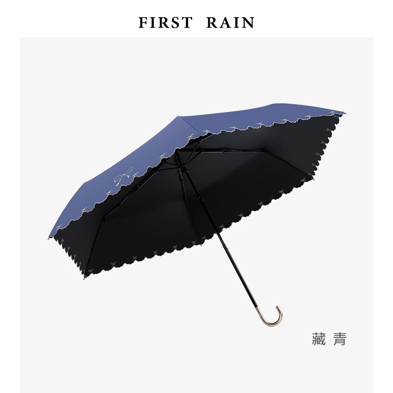 Anti Uv Patio Folding Umbrella Hook Cool Multi Color Umbrella Art Japanese Folding Regenschirm Household Merchandises BL50UM enlarge