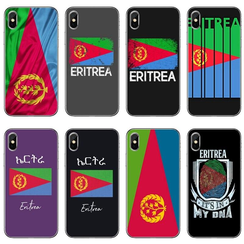 Eritrea Flag Map Silicone phone case For Huawei P30 P20 pro P10 P9 P8 Lite nova 3i G8 P Smart plus 2018 2019