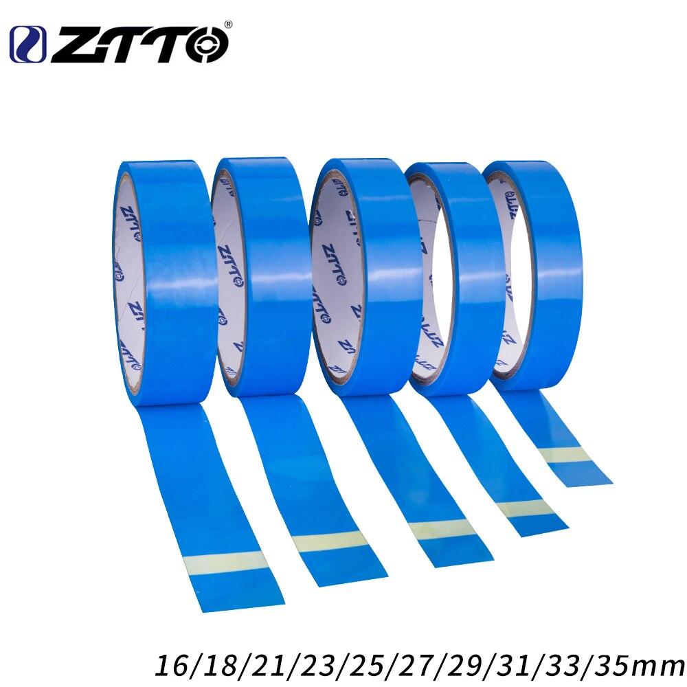 Ztto fita de aro da roda estrada 10m adequado para 26 27.5 29 polegada 700c adequado para mtb bicicleta estrada sem câmara aro fita
