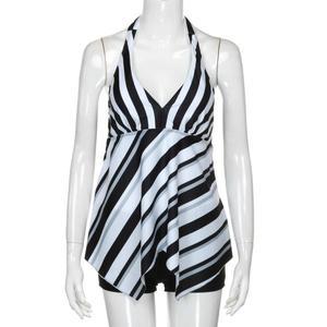 Hot Seller Tankini Swimsuit 2021 Striped Swimsuit Womens Swimwear Large Swimsuits 2XL