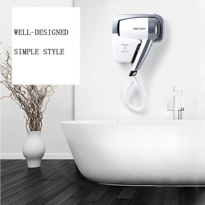 Wall-mounted hair dryer Hotel Household Hotel bathroom Wall-mounted heater secadoras para cabello enlarge