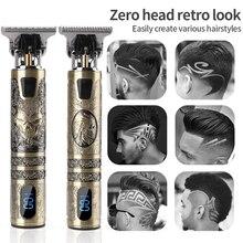 Electric Hair Clipper USB Rechargeable Shaver Beard Trimmer Strong Power Men Hair Cutting Machine Ba