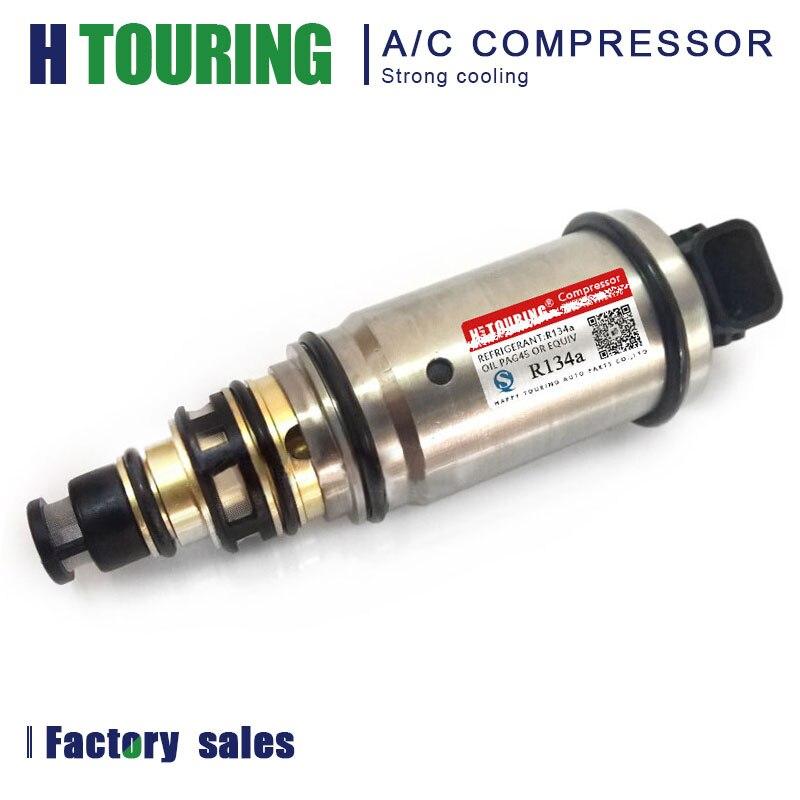 VS16E VS18E, válvula de solenoide electrónica de Control para compresor de aire acondicionado para KIA K3 K4 K5 Hyundai IX35 Santa fe Sonata 97674F